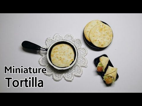 how to: miniature tortillas