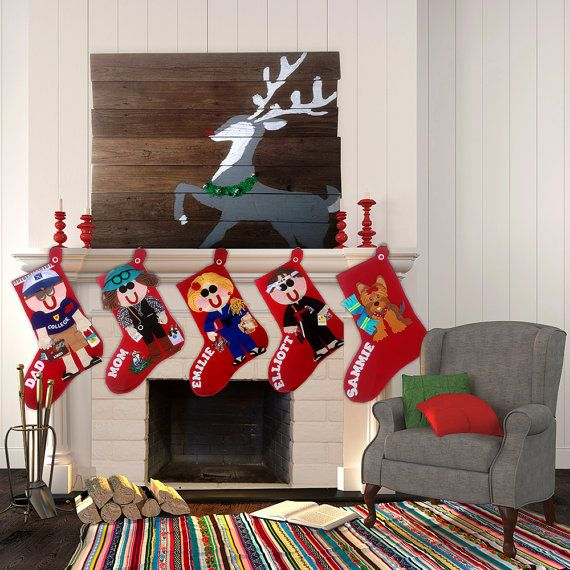 Christmas Decor by Anne on Etsy