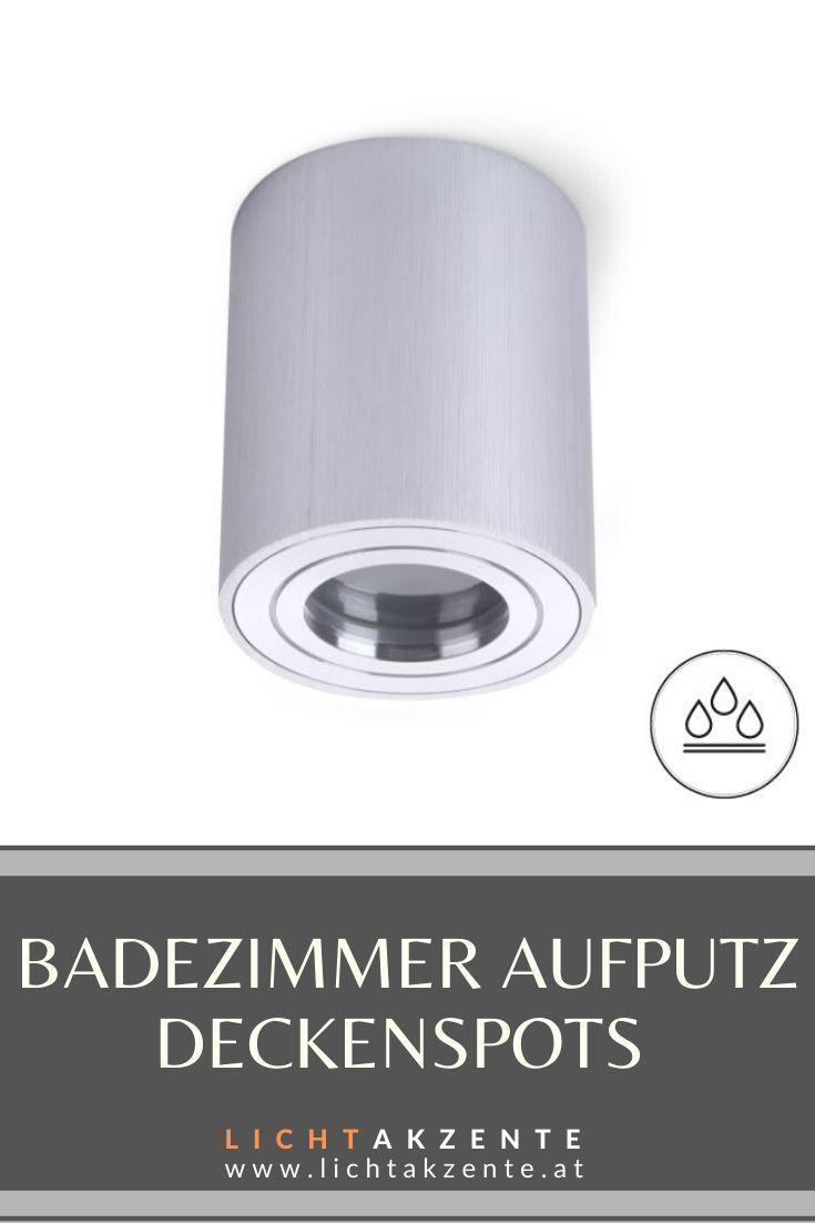 Badezimmer Deckenstrahler Rund Aquarius Ip44 Silber In 2020 Deckenspots Deckenstrahler Beleuchtung