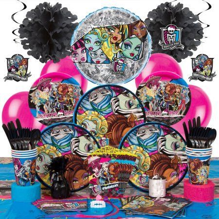 Deluxe Hoopla Monster High Party Supplies Kit for 8