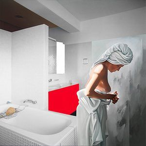Richard Hamilton: Richard Hamilton's Bathroom