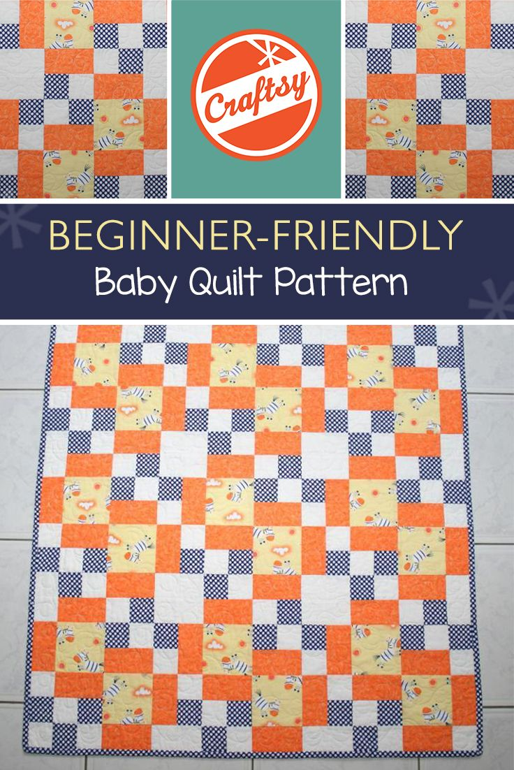 Scrap Quilt Patterns For Beginners : We re going ga-ga over this cute, FREE baby quilt pattern! Isnot it the perfect way to use up ...