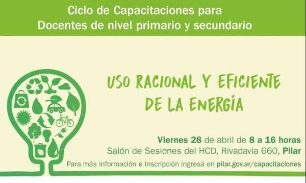 Capacitan a docentes sobre uso de energías