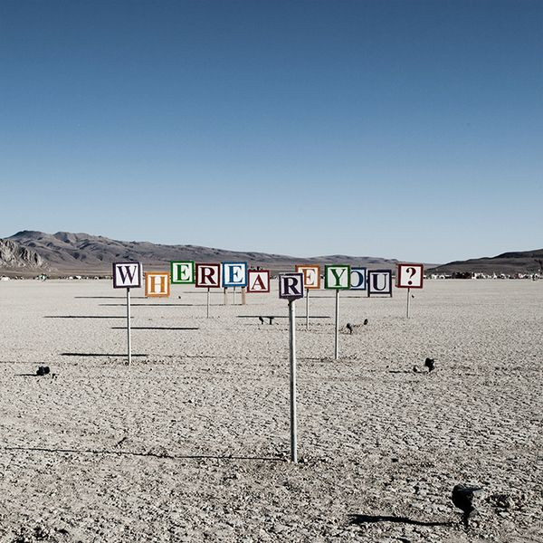 Never got to see this lined up at Burning Man, but walked through the cubesInspiration Photography