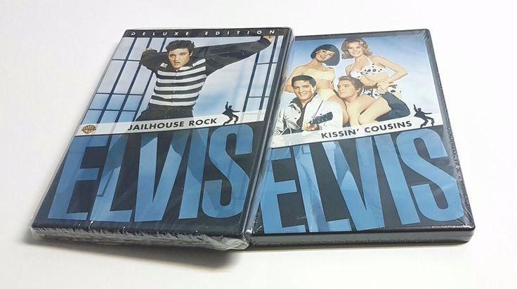 Set of 2 Elvis Movies - Jailhouse Rock & Kissin' Cousins - ELVIS (DVD) | eBay