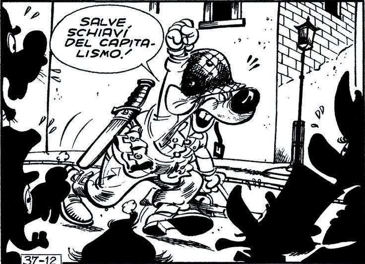 ITALIAN COMICS - La contestazione di Topolino reduce dal Vietnam 2