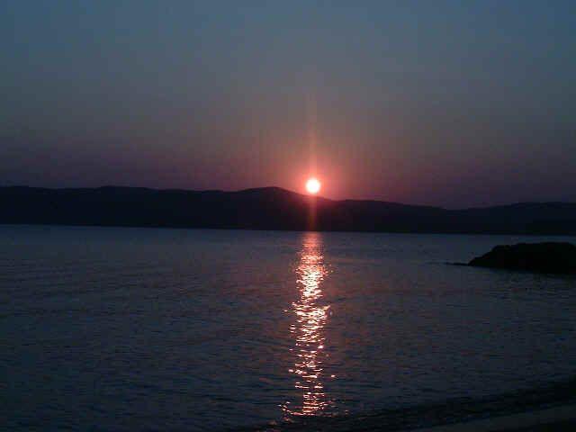 Skiathos sunset.