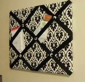 DIY Tutorial: DIY Ribbon Crafts / DIY make a ribbon bulletin board - Bead&Cord