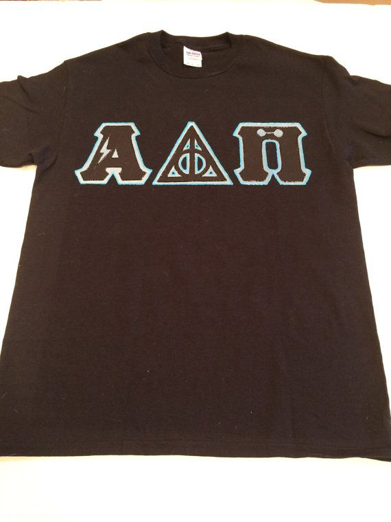 custom greek letter shirt harry potter alpha delta pi With harry potter greek letter shirts