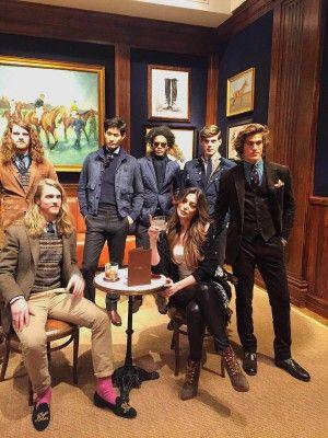 Iveta Mukuchyan New York Fashion Week Ralph Lauren 1