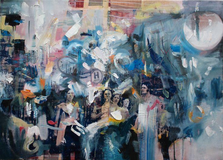portfolio   SusanneWawra_Bushaltestelle_2016_90x65cm