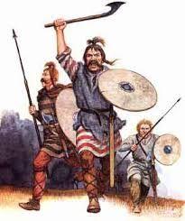 32 – En el siglo IV, antes de las grandes invasiones, las importantes tribus germánicas eran, comenzando con los francos, establecidos en las riberas del Rin.