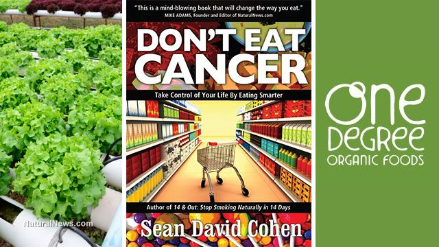 What's new in the world of natural health: Hydroponic living produce, Don't Eat Cancer and One Degree Organic Foods