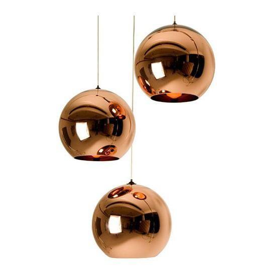 Marvelous Discount New Tom Dixon Copper Shade Mirror Chandelier Ceiling Light E Led Pendant Lamp Bulb Modern