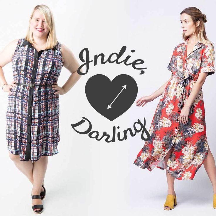 Indie, Darling : Best Shirtdress Patterns – Helen's Closet