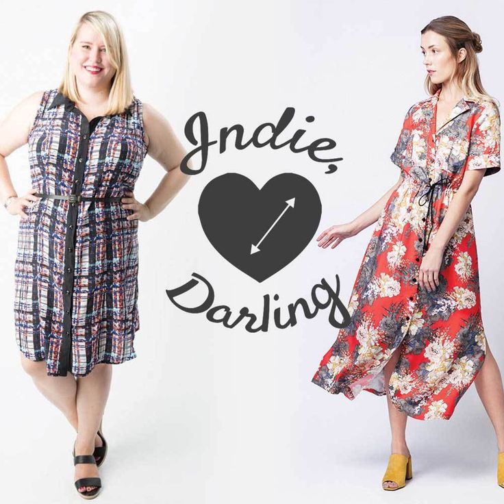 Indie, Darling : Best Shirtdress Patterns – Helen's Closet