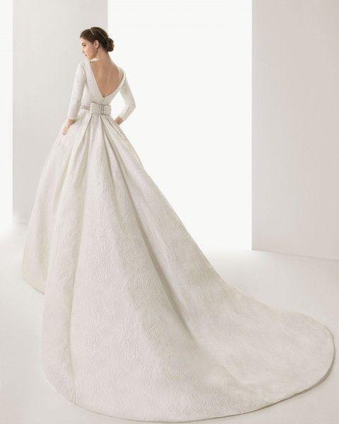 2014 trajes de novia rosaclara   Foto 9 de 30 Modelo Caceres. Colección Rosa Clará 2014. Novias con ...