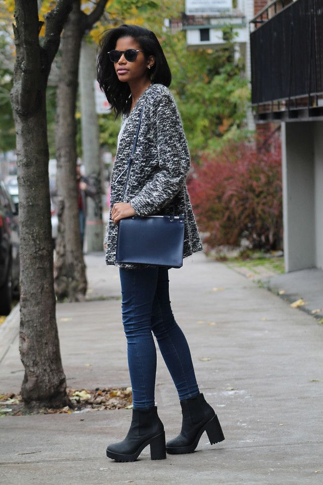What to wear with black ankle boots pinterest
