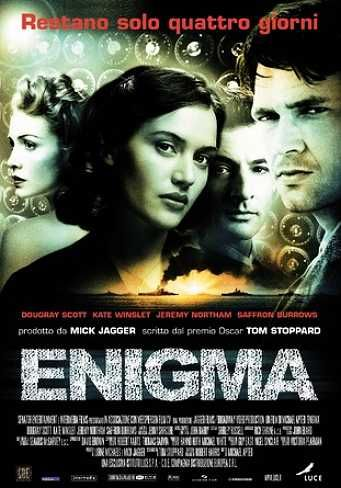 Enigma – Il codice che cambio' la storia (2001) | CB01.EU | FILM GRATIS HD STREAMING E DOWNLOAD ALTA DEFINIZIONE