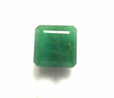 19.00 Ct 100% Natural Green Emerald Gemstone Octagon Cut 15 Approx MM S2127