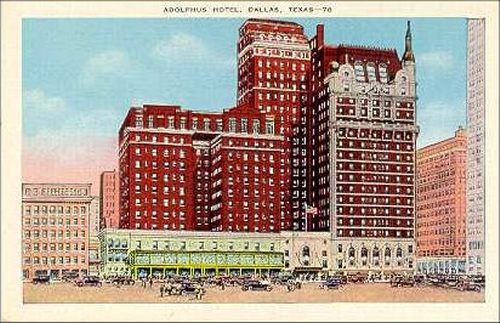 Adolphus Hotel Dallas
