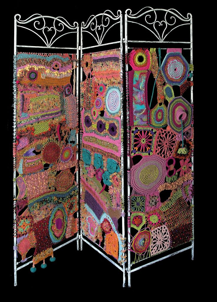 "Daniela Cerri's ""Freeform Crochet Screen""...not everything at this site is crochet but he has some really beautiful things!"