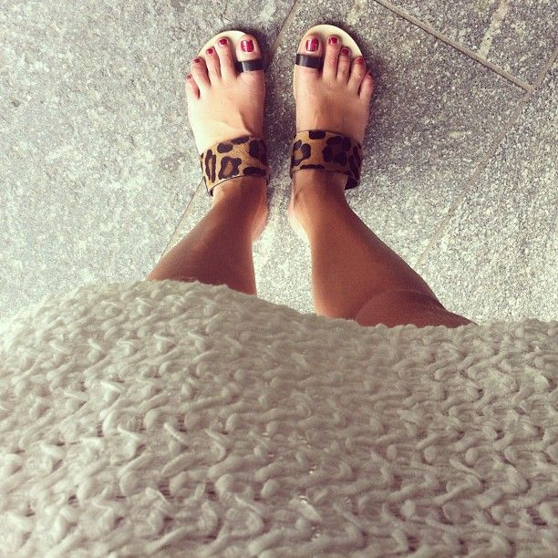 New Giacomorelli leopard sandals for today - @Chiara Ferragni- #webstagram