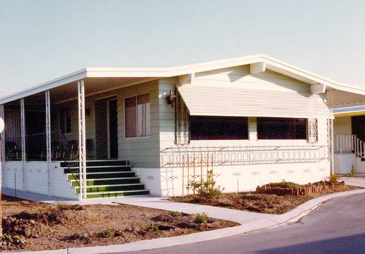 Mobile Home Aluminum Porch Awnings