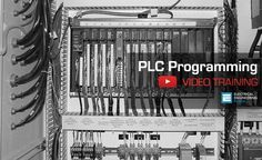 Ladder logic (LAD) is one programming language used with PLCs. Ladder logic uses components that resemble elements used in a line diagram format to