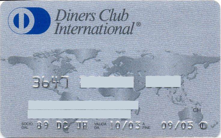 Diners Club International (Diners Club International, Italy)