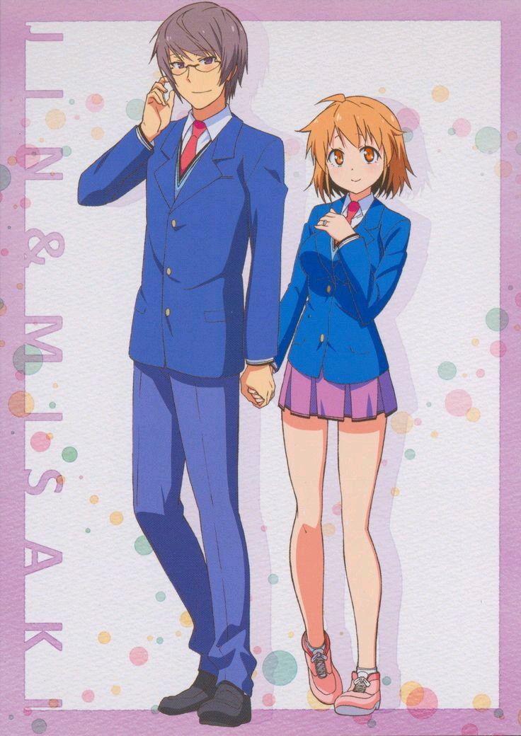 Jin And Misaki Sakurasou No Pet Na Kanojo Pets Anime Manga