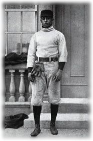 William C Matthews played baseball and football at Tuskegee.  He then attended Harvard where he led the team in batting average for 3 seasons. In 1905, Matthews joined the Burlington, Vermont baseball team of the Northern League, making him the only black in any white professional baseball league at the time. After completing law school he became one of the first African-American Assistant District Attorneys in the country and worked as legal counsel to Marcus Garvey.