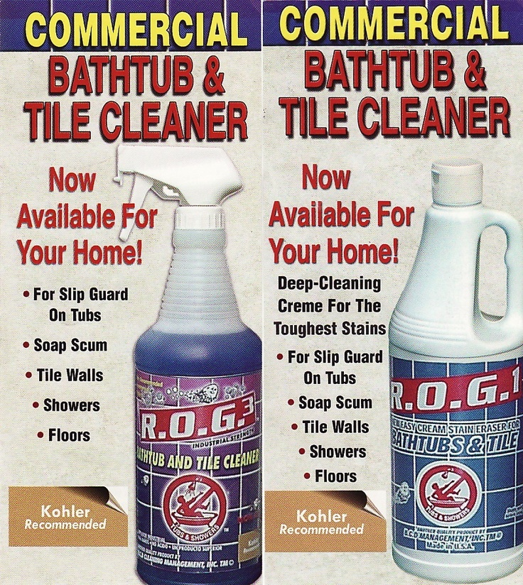 Bathtub And Tile Cleaner Is The Industry Leader In Cleaning Slip Prevention  Tub Bottoms And Showers.