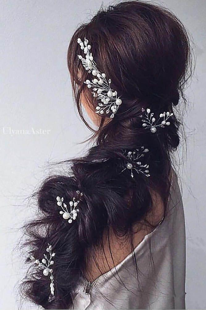 27 Braided Wedding Hair Ideas You Will Love ❤ See more: http://www.weddingforward.com/braided-wedding-hair/ #weddings #hairstyles
