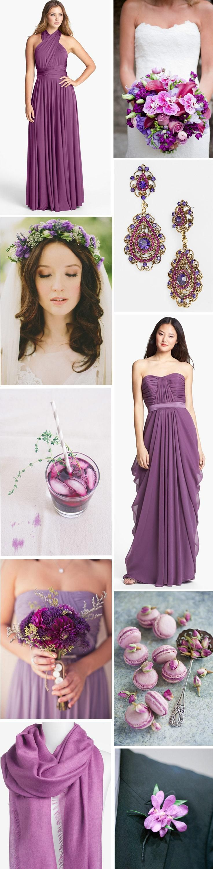 Wedding ideas in the Color of the Year 2014: Radiant Orchid