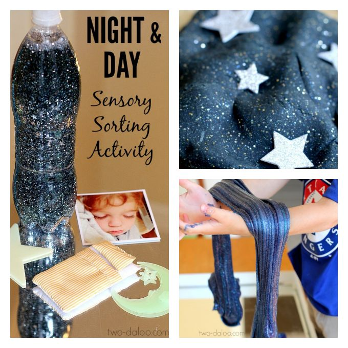 Sensory Bottles | Galaxy in a Jar for Night/Space Unit