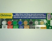 Gloss Enamel Paint Set -paint kit, ceramics, wood, glass, glazed ceramica and more