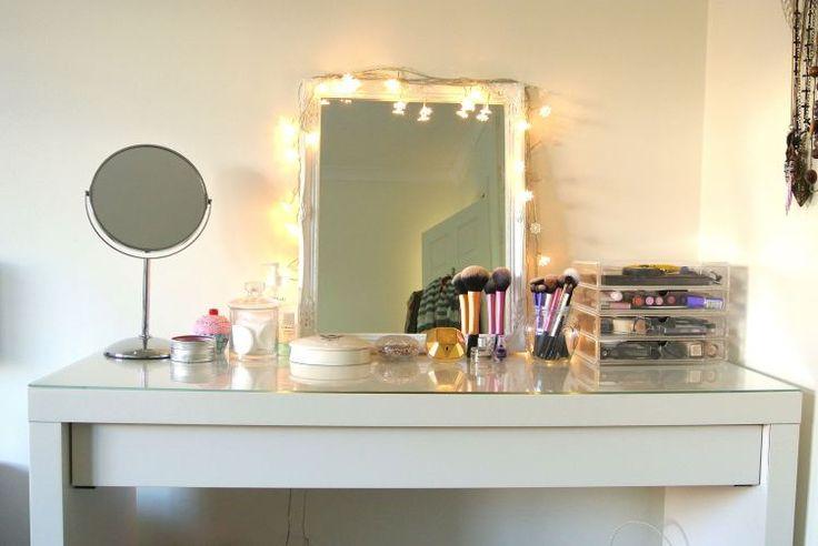 Best 25 dressing table storage ideas on pinterest for Skinny dressing table