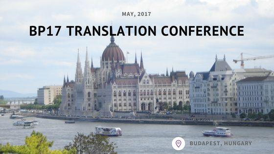BP17 Translation Conference - Day 2