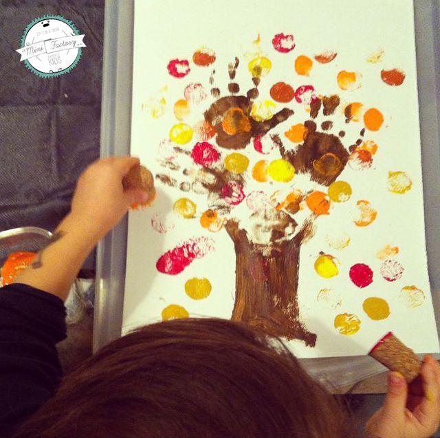 L'albero d'autunno | MiniFactory L'albero d'autunno | MiniFactory autumn tree print - Tutorial per diy & craft - Attività per bambini - Autumn fall activity, project for kids and toddlers #benvenutoautunno