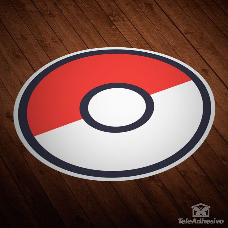 Pokeball - Pokémon Go  - VINILOS DECORATIVOS #teleadhesivo #vinilosdecorativos #PokemonGO