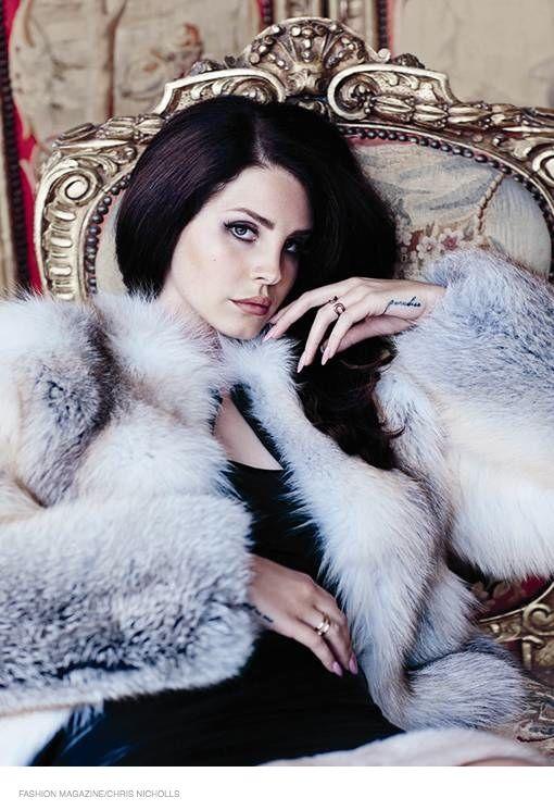 FASHION Magazine September 2014 | Lana Del Rey by Chris Nicholls #FashionEditorials