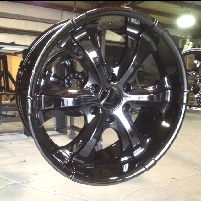 Nice Looking Rims Powder Coated At Double R Powder