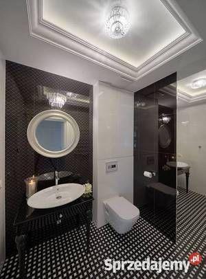 Konsola pod umywalkę na toczonych nogach z szufladką, stolik, toaletka, stylowa, glamour, łazienka
