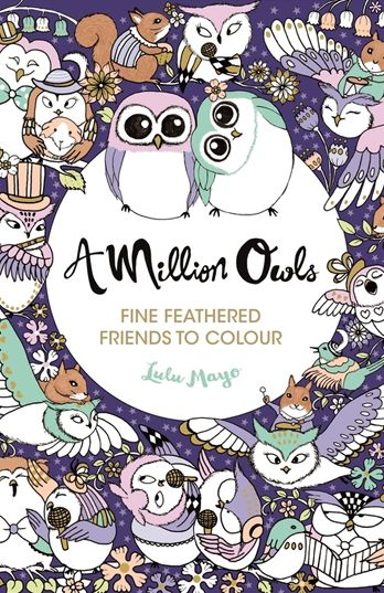 Award Wining Illustrator Lulu Mayo Is Back With Another Adorable Colouring Book A Million