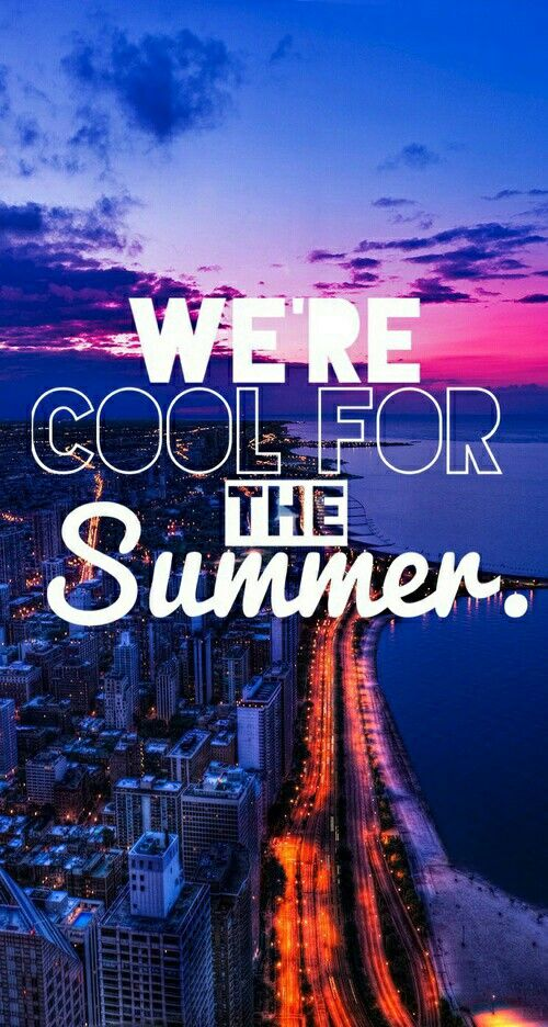 We're Cool for the Summer  Demi Lovato  Song.. love  Wallpaper HD IPhone