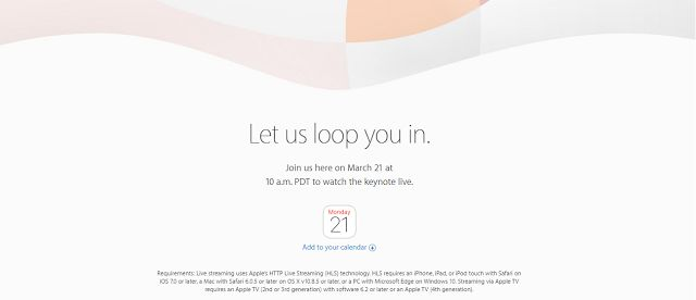 """March 21 is finally here. It is less than 24 hour for Apple's """"Let us loop you in"""" Event to start. ..."""