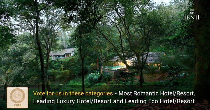 The IBNII Coorg has been nominated for the Most Romantic Hotel/Resort (No.42), Leading Luxury Hotel/Resort (No.43) and Leading Eco Hotel/Resort (No.56) categories in the prestigious South Asian Travel Awards (SATA), 2017. Kindly login to http://southasiantravelawards.com/v1/vote/ and cast your votes. #TheIbnii_Coorg #luxuryresorts #luxury #coorgresorts #coorg #awards #resort #nomination #resortsnearbangalore #resortsincoorg #ecoluxe #ecoresorts #satawards #ecohotel