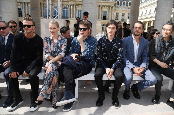 David Beckham Looks Like a Living, Breathing Calvin Klein Ad at Paris Fashion Week