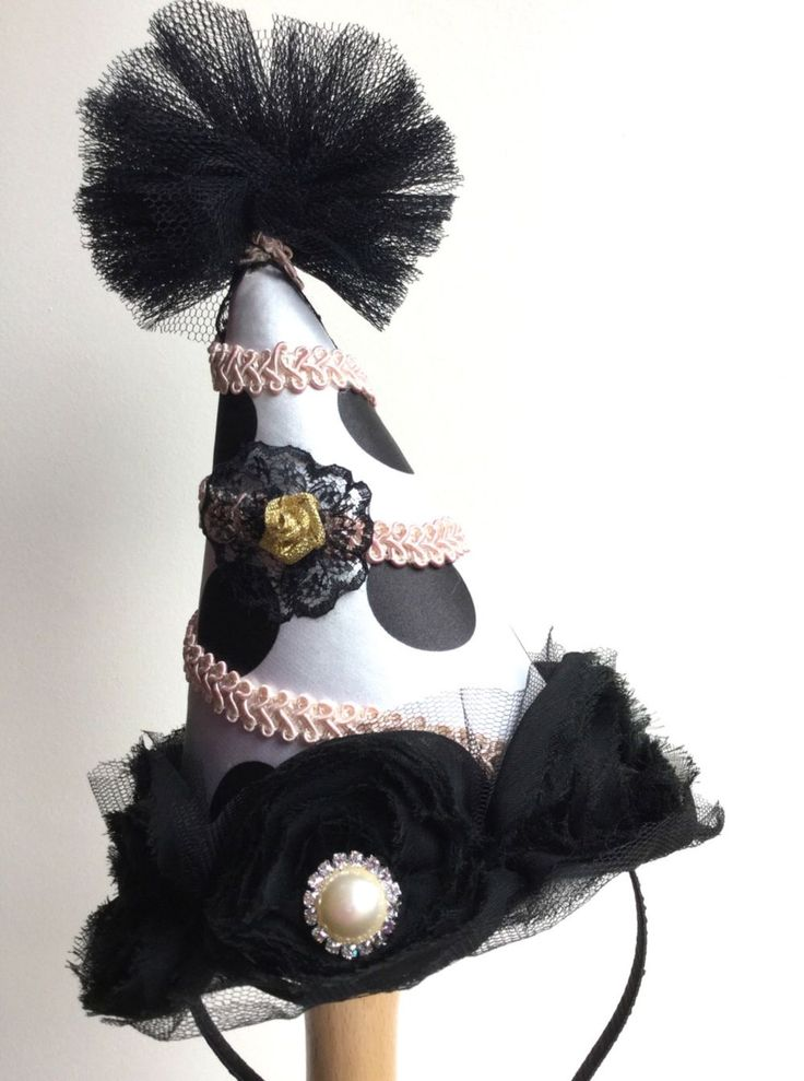 Circus clown hat. via Talulah Bijoux. Click on the image to see more!